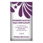 311 Freshtastic Purple Business Card Templates