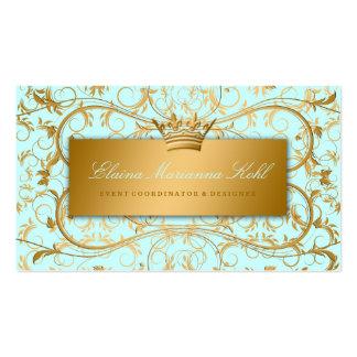 311 Golden diVine Sky Blue Business Card