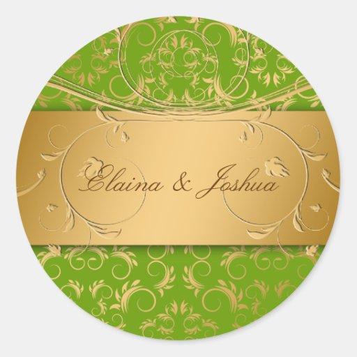 311-Golden diVine Sticker Sublime