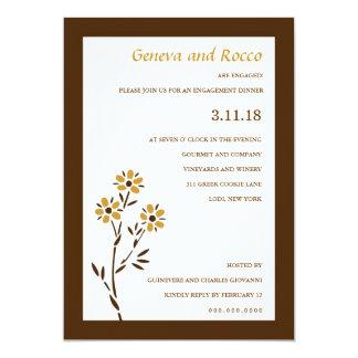 311-GOLDEN PASSION FLOWER CARD