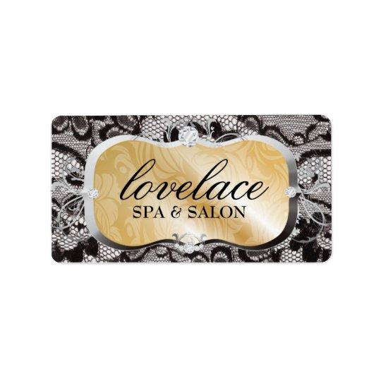 311 Golden Platter Lace Label