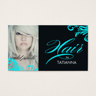 311 Hair By Aqua Business Card