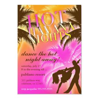 311 Hot Havana Nights Invite
