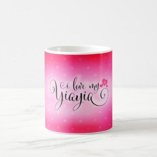 311 I love my Yiayia Coffee Mugs