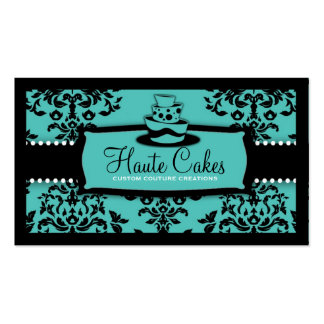 311 Icing on the Cake 3 Tier Turquoise Pack Of Standard Business Cards