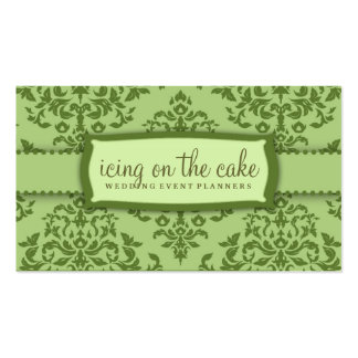 311-Icing on the Cake - Ivy garnish Pack Of Standard Business Cards