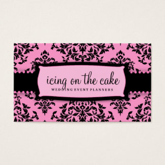 311 Icing on the Cake Pink Liquorice Customizabl Business Card