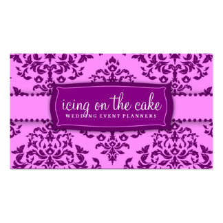 311 Icing on the Cake Purple Pack Of Standard Business Cards