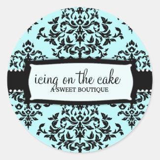 311 Icing on the Cake Something Blue Round Sticker