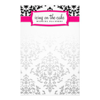 311 Icing on the Cake Strawberry Stationery Design