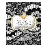 311 Lace De Luxe Ciao Bella Metallic 11.5 Cm X 14 Cm Flyer