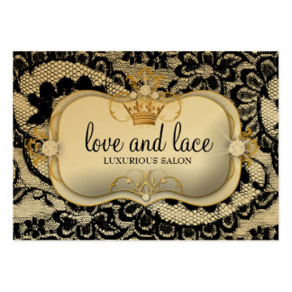 311 Lace de Luxe Ciao Bella Metallic Gold Appoint Business Cards