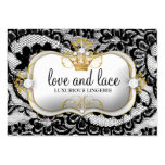 311-Lace de Luxe - Ciao Bella Pack Of Chubby Business Cards