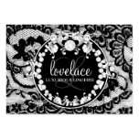 311-Lace de Luxe Circque D' Zebra Pack Of Chubby Business Cards