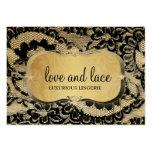 311-Lace de Luxe - Gold Business Cards