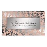 311 Ladonna Damask Silver  Peachy Pink