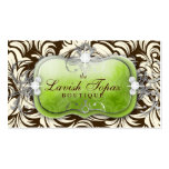 311 Lavish Lime Brown Pack Of Standard Business Cards