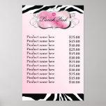 311 Lavish Pink Kisses Sassy Sweets Poster