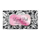 311 Lavish Pink Platter Shipping Labels