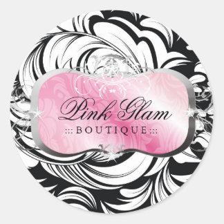 311 Lavish Pink Platter Stickers