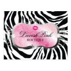 311 Lavish Pink Platter with Lips Postcard