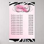 311-Lavish Pink Platter Zebra Price List