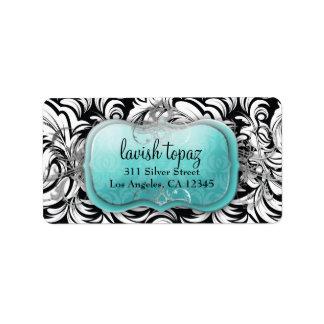 311 Lavish Topaz Label Address Label