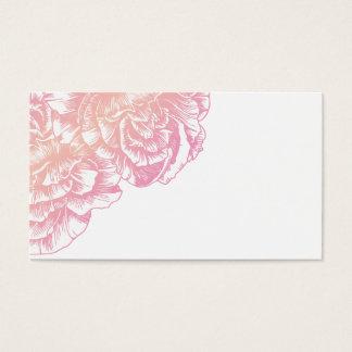 311 Le Plush Fleur Creamy Pink Place Card