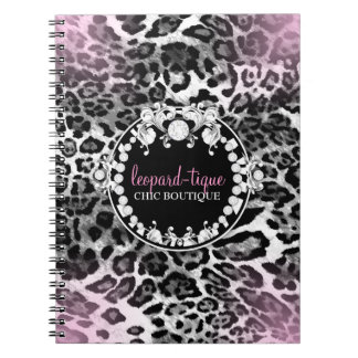 311 Leopard-Tique Pink Fade Notebook