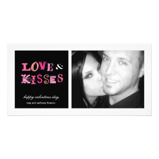 311-Love & Kisses FUnky Valentines PhotoCard Picture Card