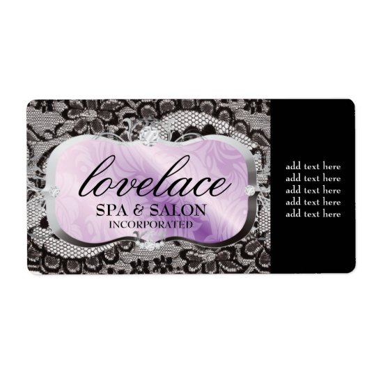 311 Love Lace Lavender Platter