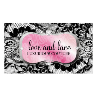 311 Love Lace Pink Platter Pack Of Standard Business Cards