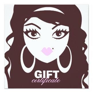 311 Luscious Lash / Hair Gift Certificate Card