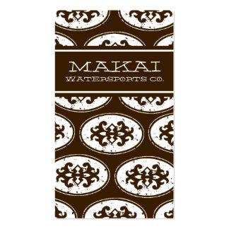 311 MAKAI COCONUT BUSINESS CARD
