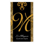 311 Marley Monogram Gold Rush Pack Of Standard Business Cards