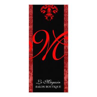 311 Marley Monogram Red Rack Card Design