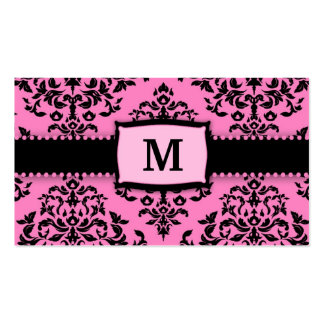 311 Monogram Icing on the Cake 2 Pink Liquorice Pack Of Standard Business Cards