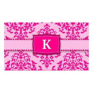 311-Monogram Icing on the Cake - Pink Pack Of Standard Business Cards