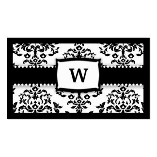 311-Monogram Icing on the Cake - Sugar Frosting Pack Of Standard Business Cards