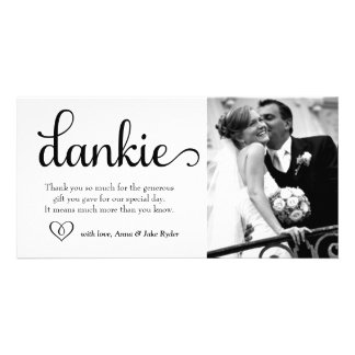 311 Ornate Dankie Photo Card with Heart