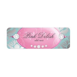 311 Pink Delish Address Label