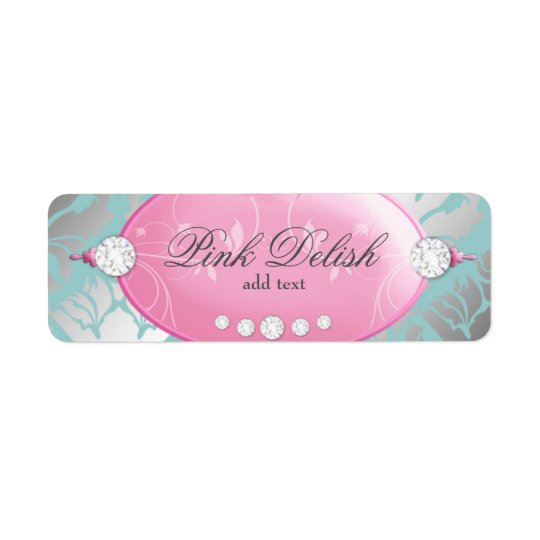 311 Pink Delish Address Label