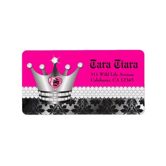 311 Princess Diva Heart Diamonds Label