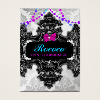 311 Rococo Wonderland Colorful Business Card