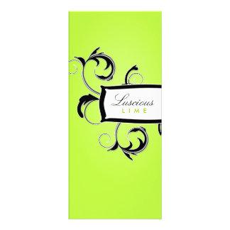 311 Roxy Lime and Black Custom Rack Cards