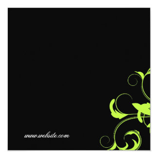 311-Roxy Solid Green Gift Certificate Card