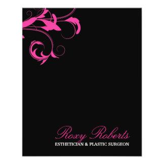 311 Roxy Solid Pink 11.5 Cm X 14 Cm Flyer