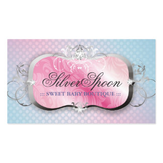311-Silver Spoon | Baby Boutique Pack Of Standard Business Cards