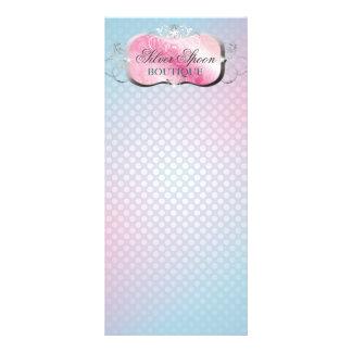 311 Silver Spoon Platter Rack Card Template