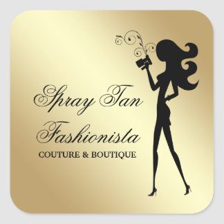 311 Spray Tan Fashionista Square Sticker